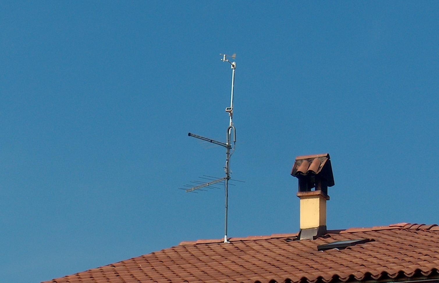 Pannello Solare Per Anemometro Oregon : Osservatorio meteorologico di calliano